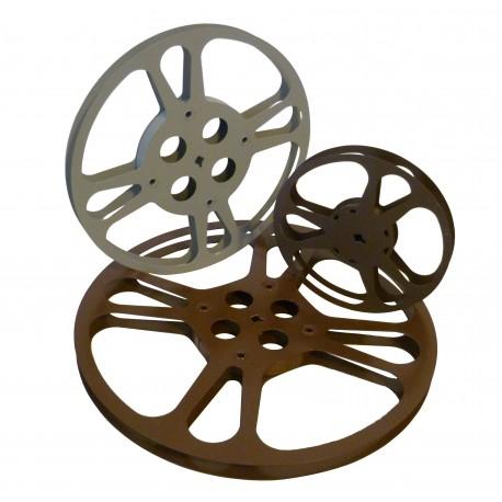 Bobine à film argentique 8mm et super 8mm