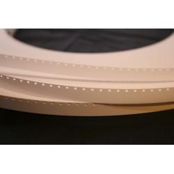 120m et plus de bande amorce Super 8mm – Blanc