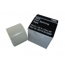 Adhésif de réparation – 35mm - Double perforation - Blanc