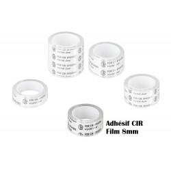 CIR adhesive for 8mm film