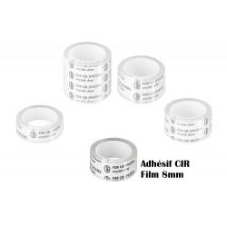 CIR adhesive for 8mm film