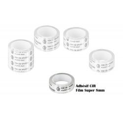 CIR adhesive for Super 8mm film